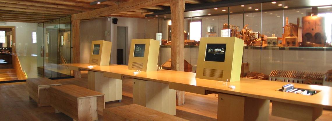 Südtiroler Bergbaumuseum: Steinhaus