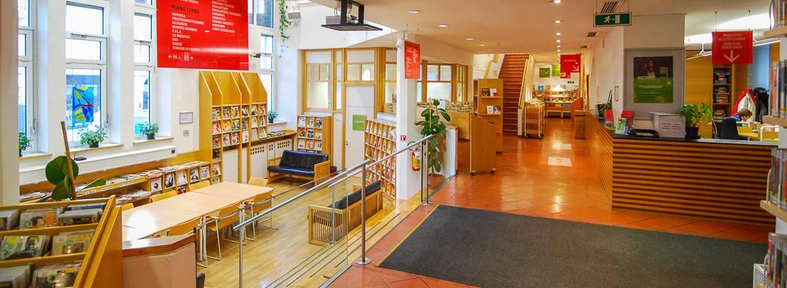 Stadtbibliothek Meran