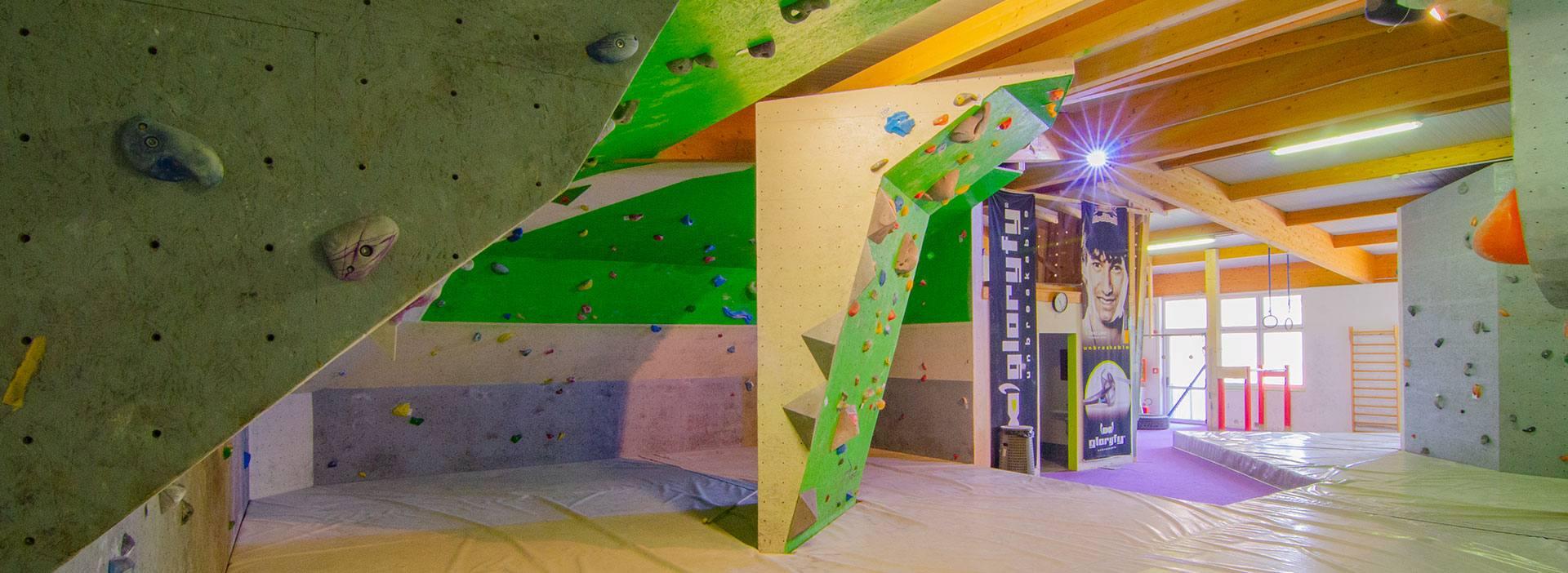 Kletterhalle Bouldergym Ropeless