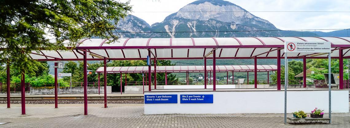 Bahnhof Margreid - Kurtatsch